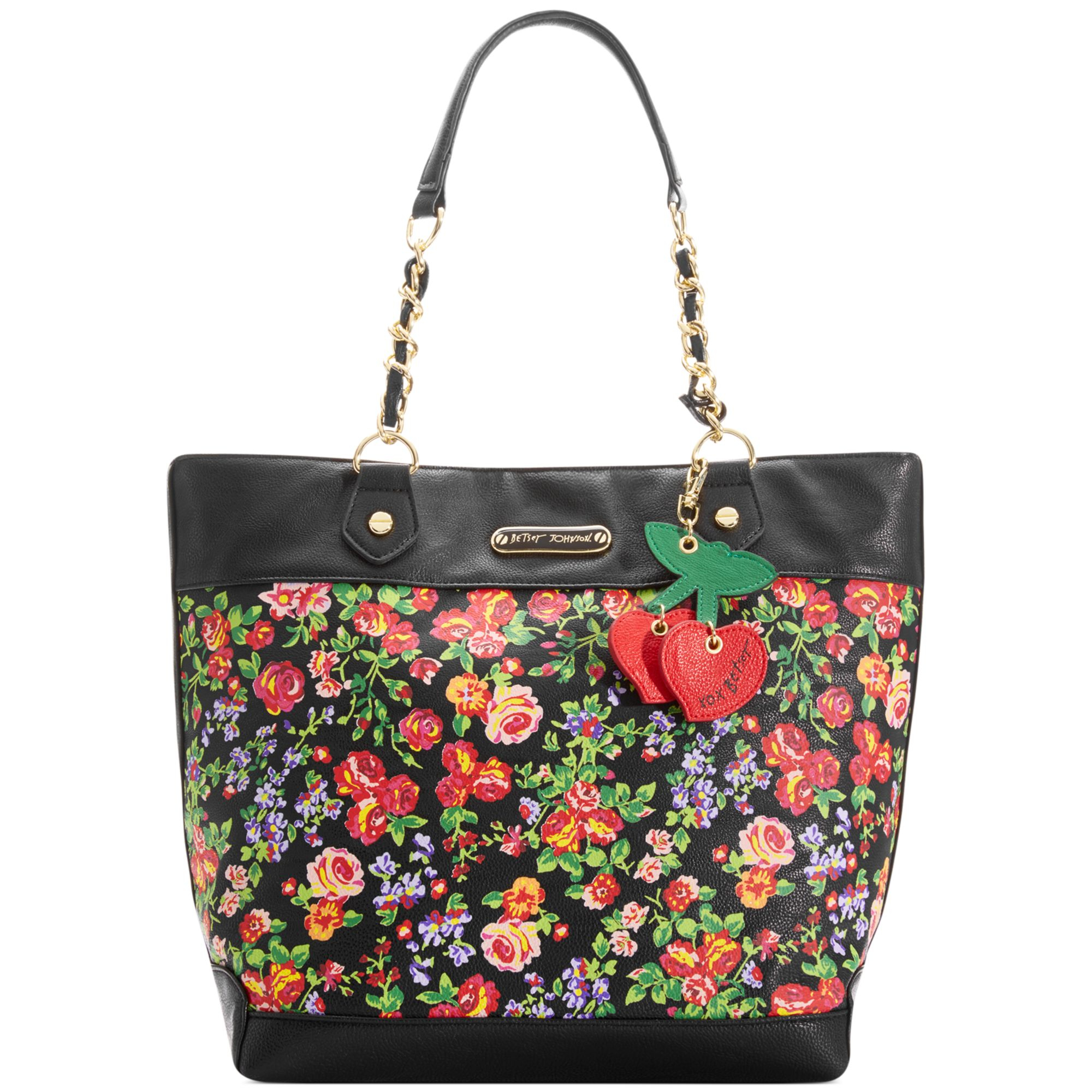Betsey Johnson Macys Exclusive Tote | Lyst