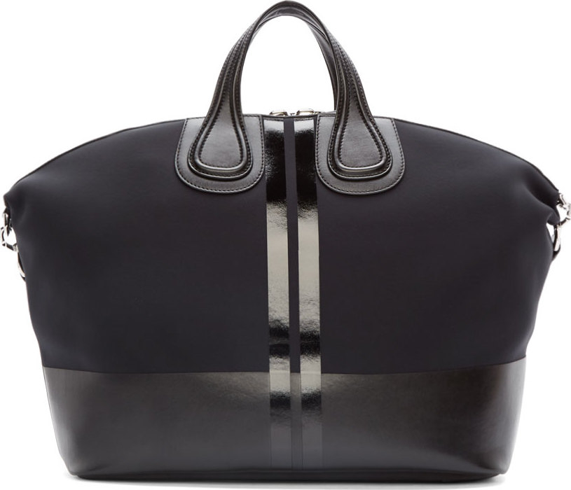 2cadac147a Lyst - Givenchy Black Neoprene Star Nightingale Bag in Black for Men