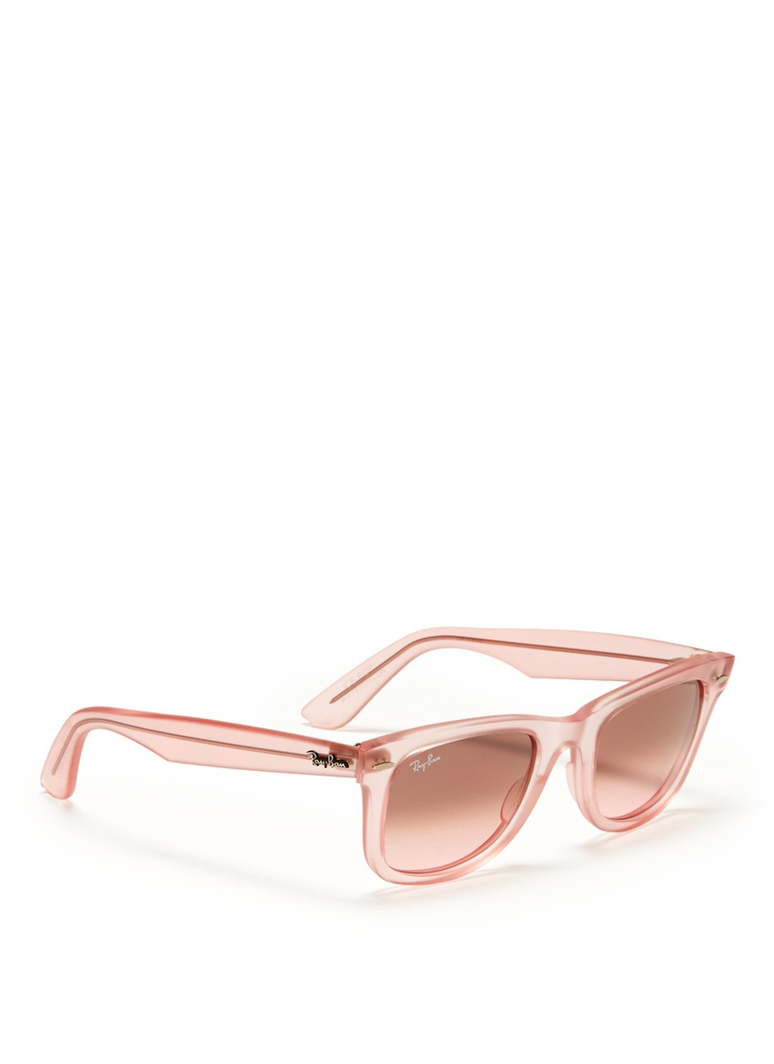 98d2eb6154 Large Ray Bands Sunglasses With Pink « Heritage Malta