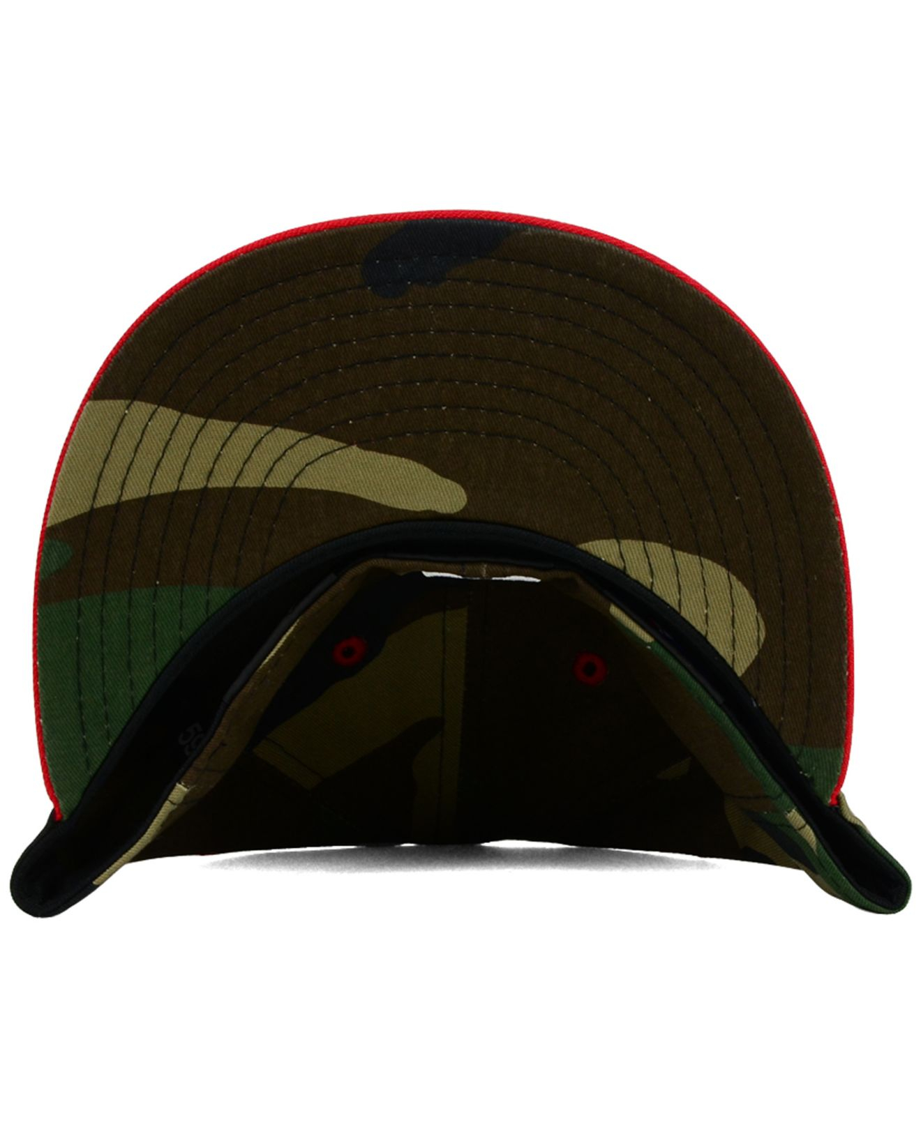 best sneakers 9e113 35011 ... new era mlb reverse c dub 59fifty cap 95039 13cae  hot lyst ktz boston  red sox camo pop 59fifty cap in red for men b9ee1 f4675