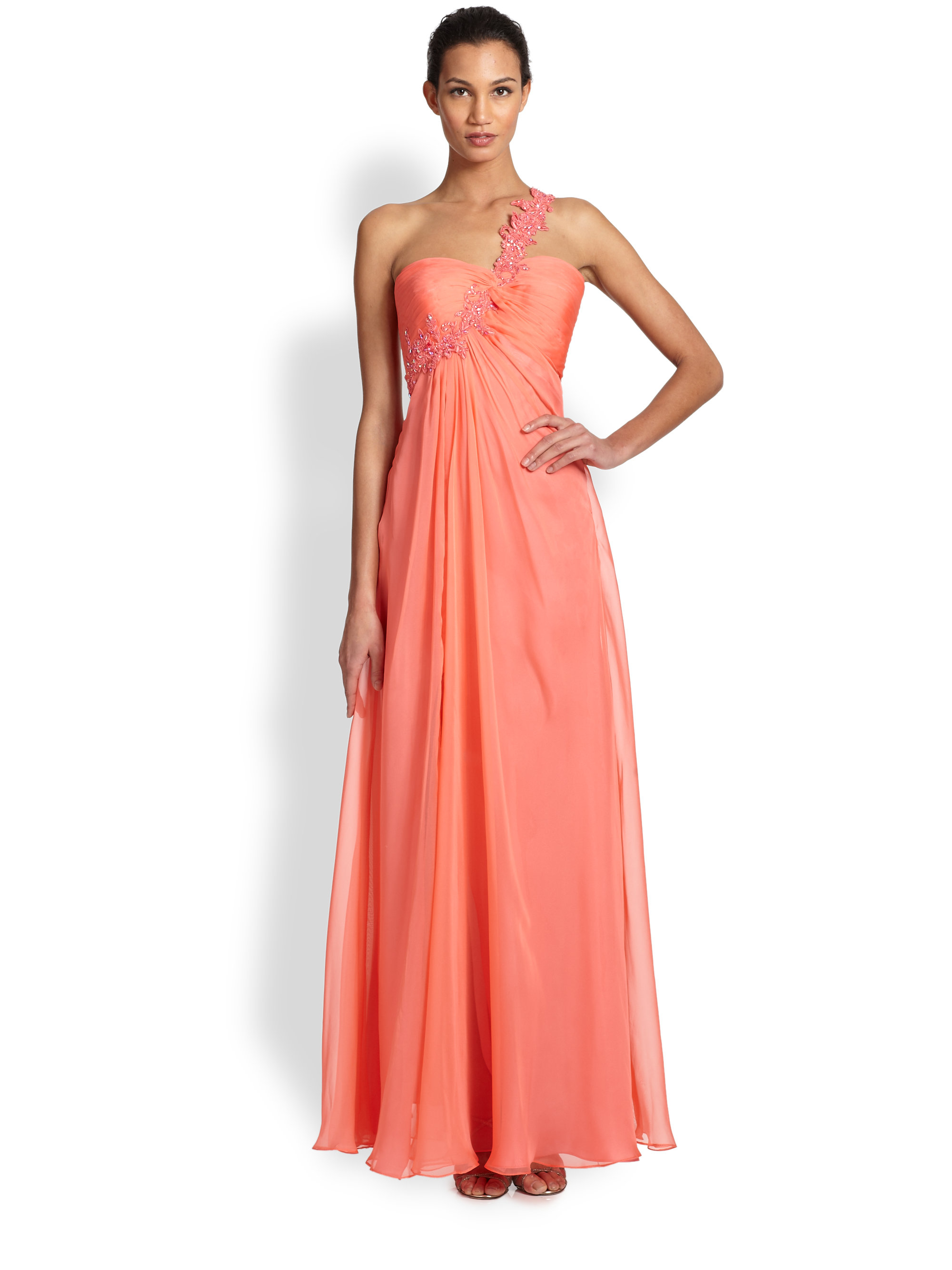 La femme one shoulder dress really