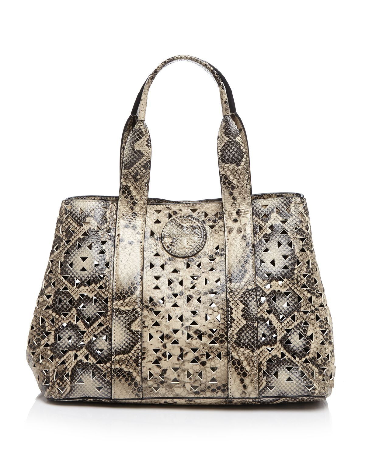 efd0e00806ca Lyst - Tory Burch Tote - Bloomingdale s Exclusive Ella Perforated ...