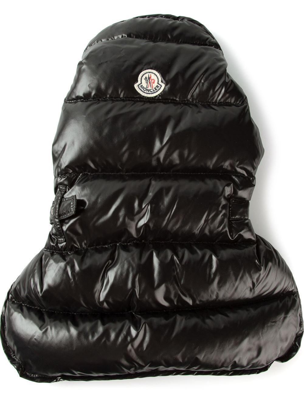 Dog Puffer Jacket Black