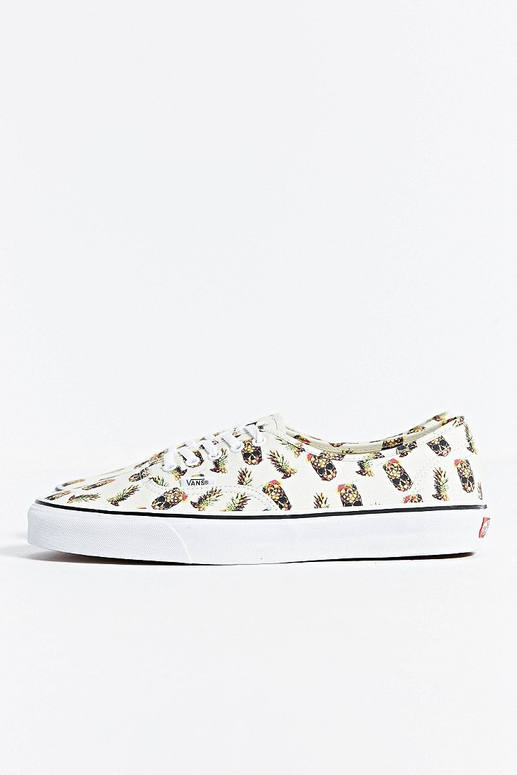 7722d4ecb6 Lyst - Vans Authentic Pineapple Sneaker in White for Men