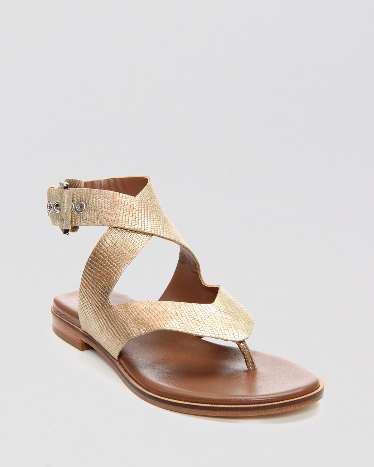 collections cheap price Donald J Pliner Embossed Thong Sandals cheap sale outlet store enjoy sale online discount wholesale deals cheap price Bsic6hw8