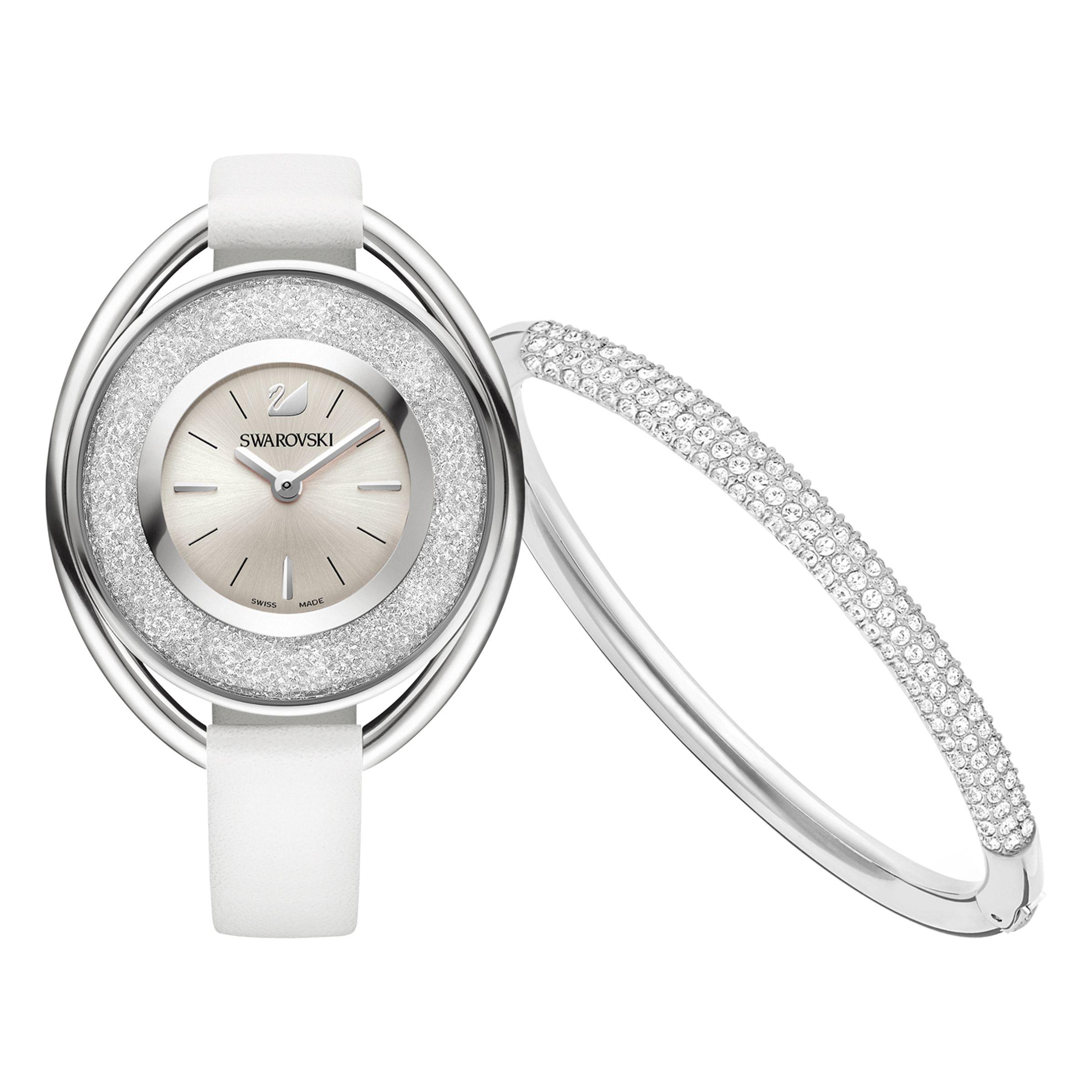 Lyst Swarovski Dale Watch Bracelet Set In Metallic