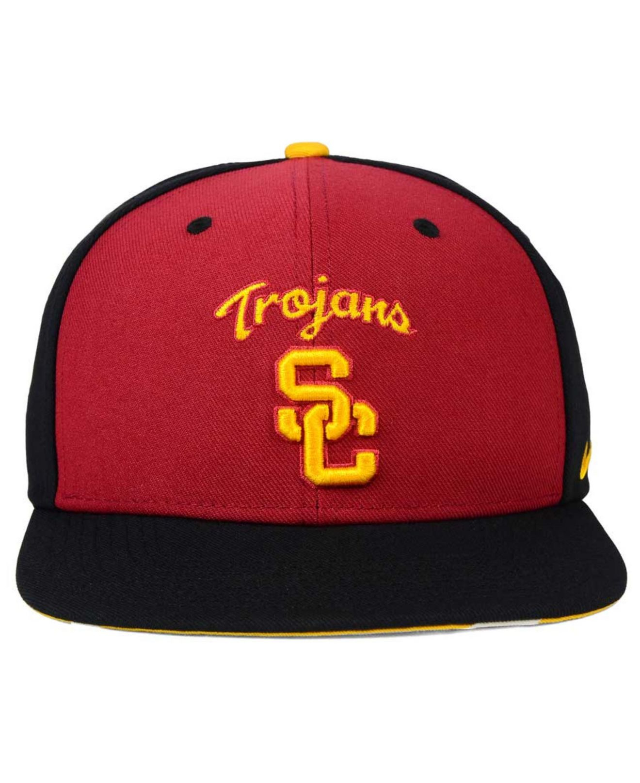 Lyst - Nike Usc Trojans Pro Verbiage Snapback Cap in Red for Men be2cc144527