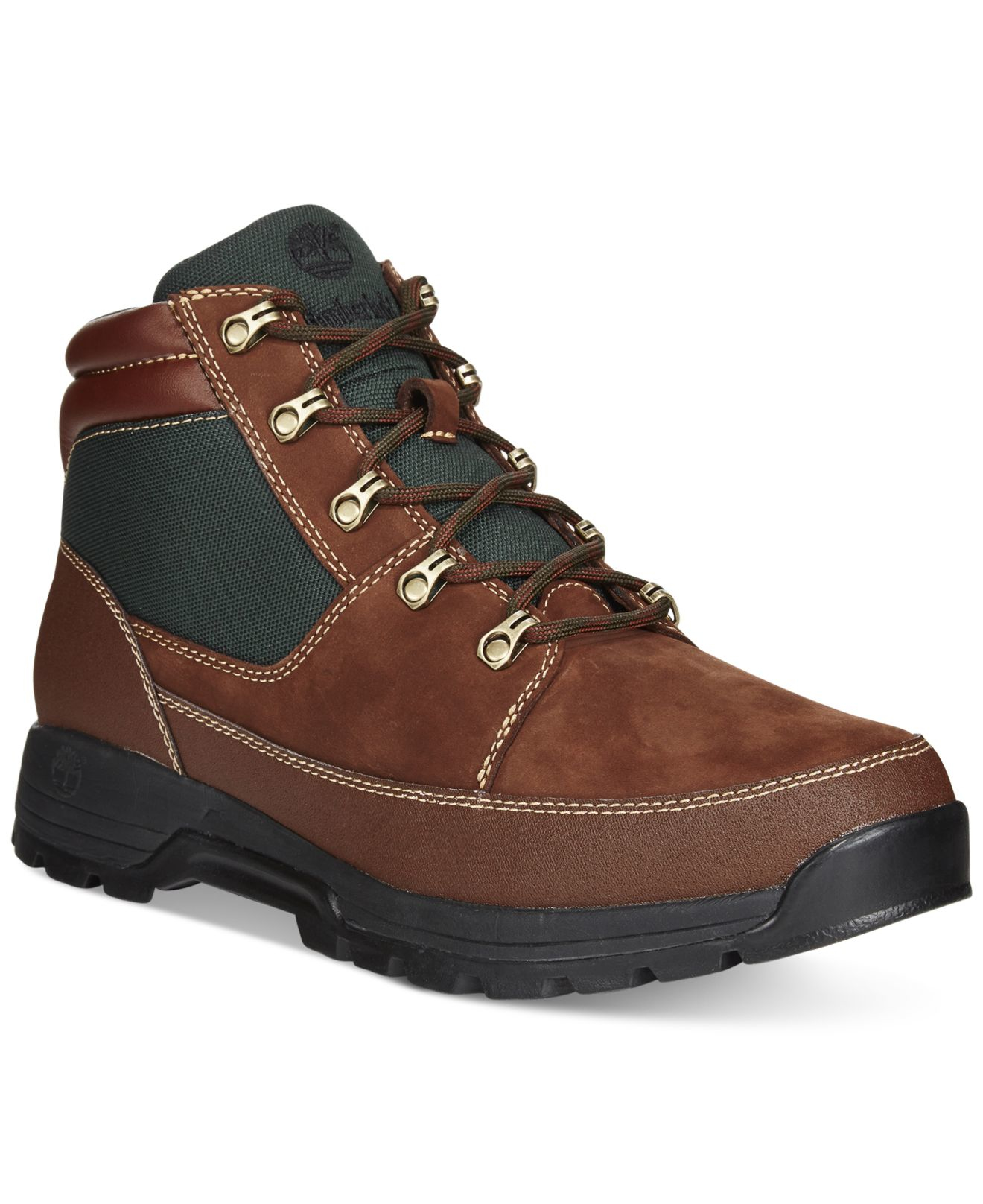 timberland s skhigh rock ii boots in brown for
