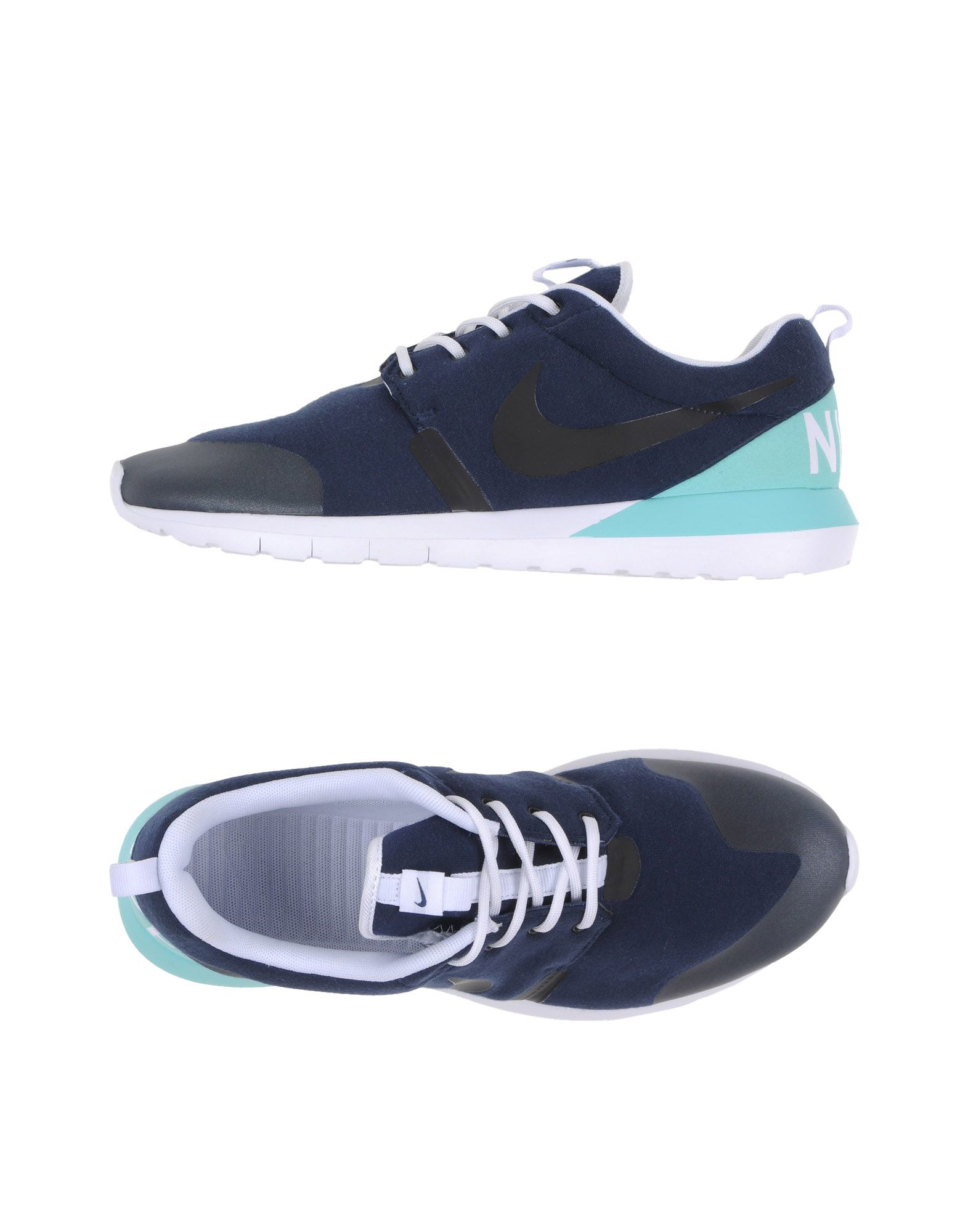 nike low tops trainers in blue lyst
