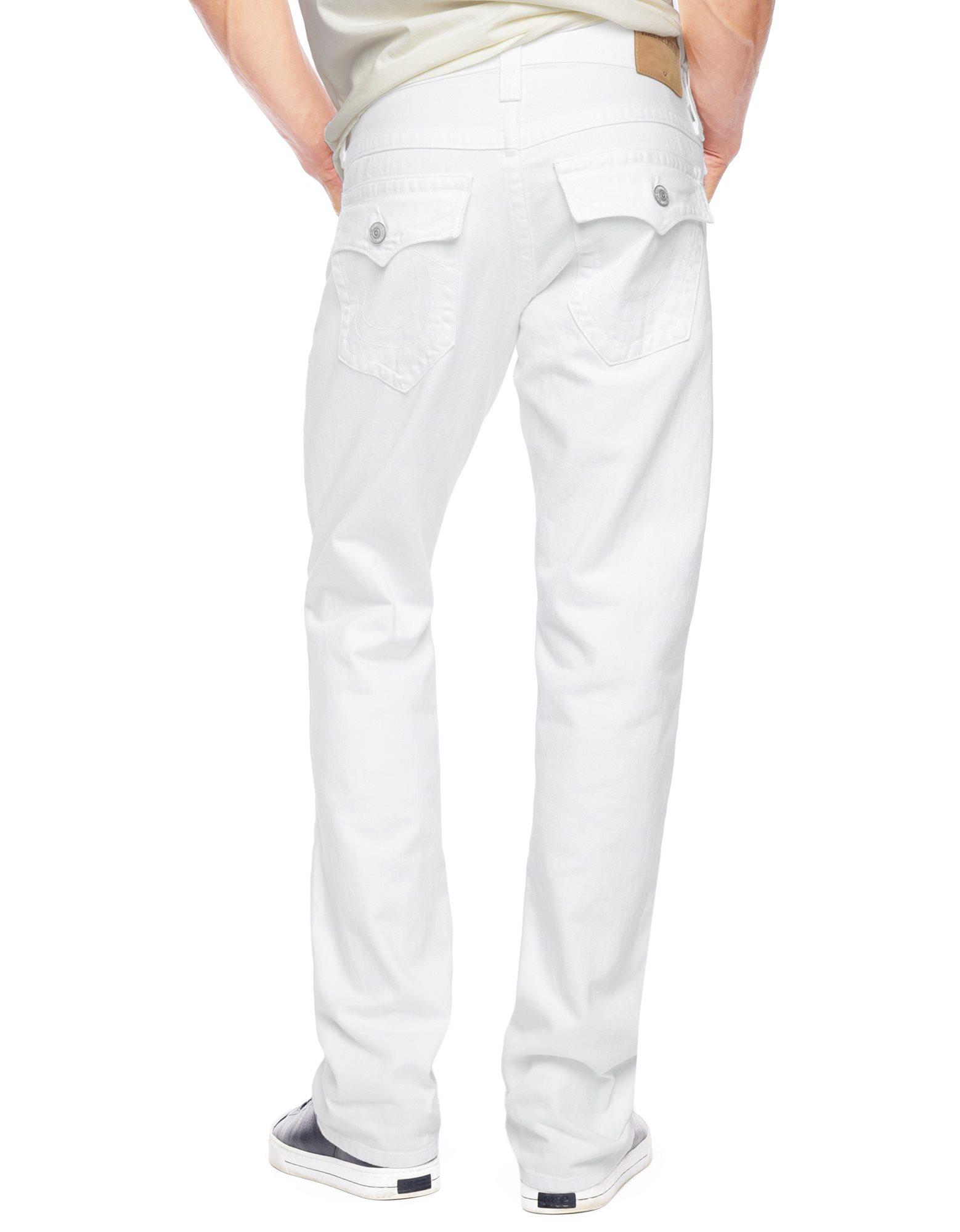 Lyst - True Religion Ricky Straight Mens Jean in White for Men