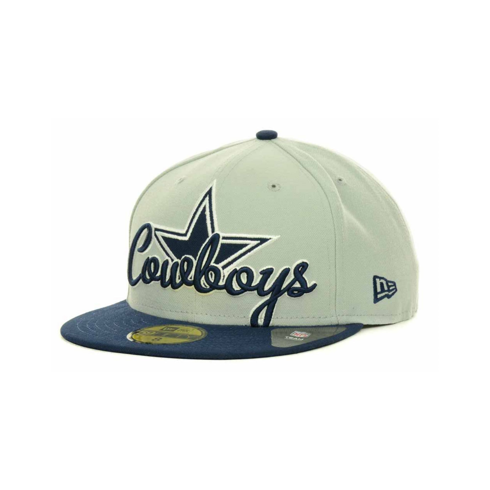 238758dadd563d KTZ Dallas Cowboys Script Down 59fifty Cap in Blue for Men - Lyst