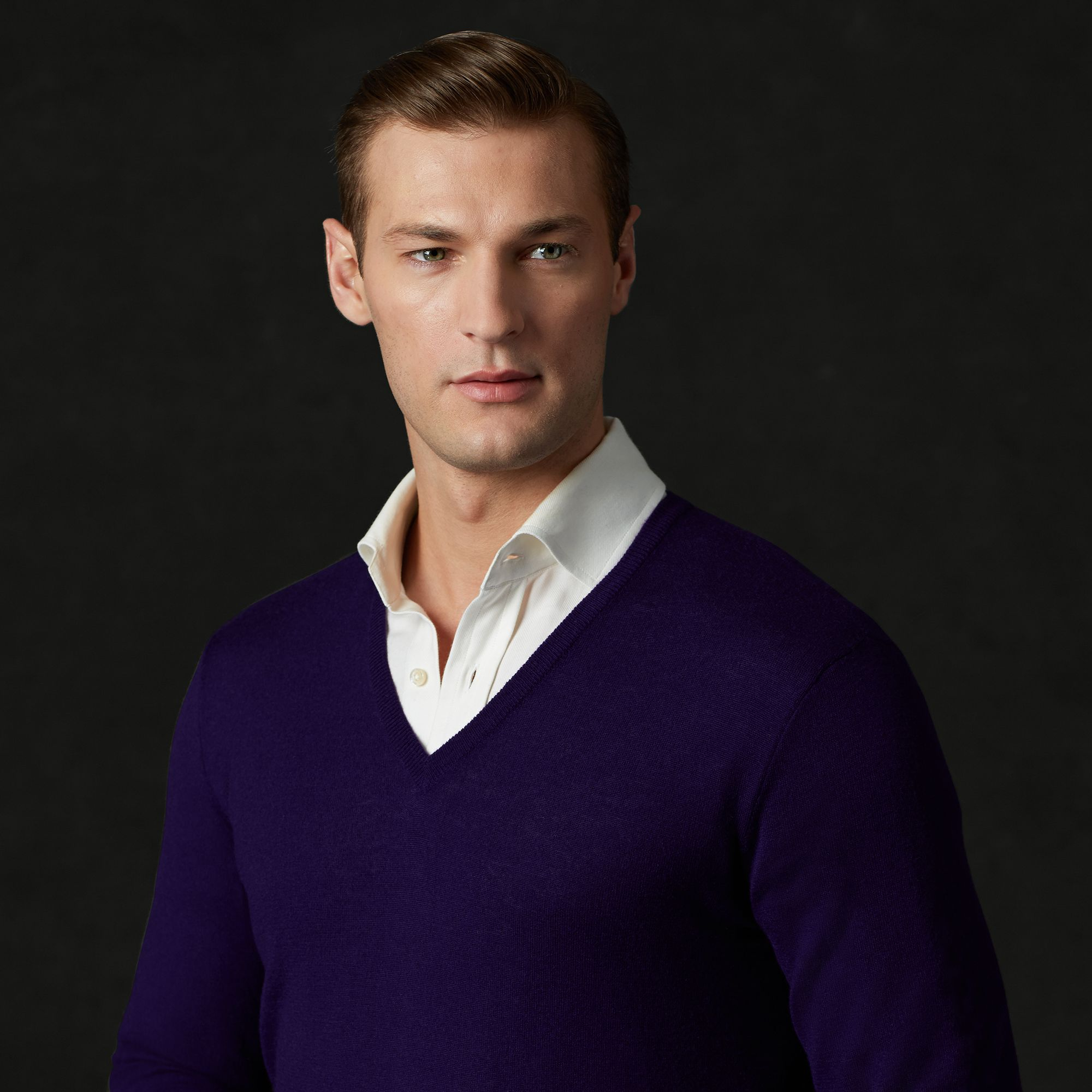 ralph lauren purple label sweater