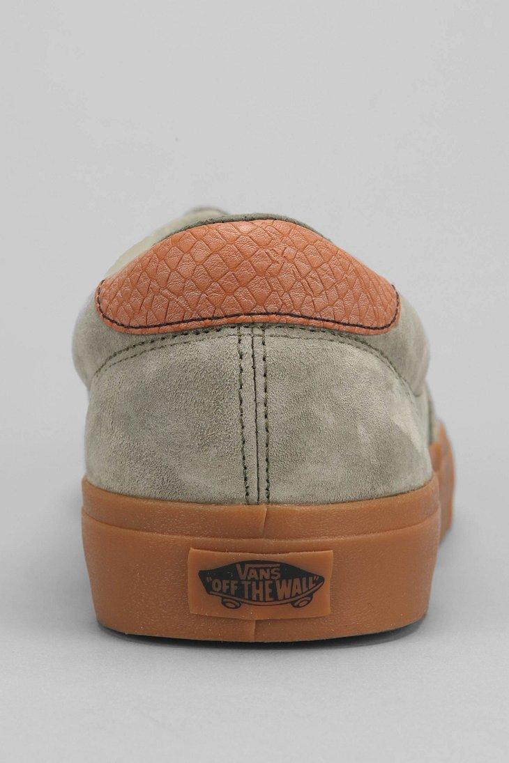 fc9ac635cb Lyst - Vans Era 59 California Suede Gum-Sole Men S Sneaker in Green for Men