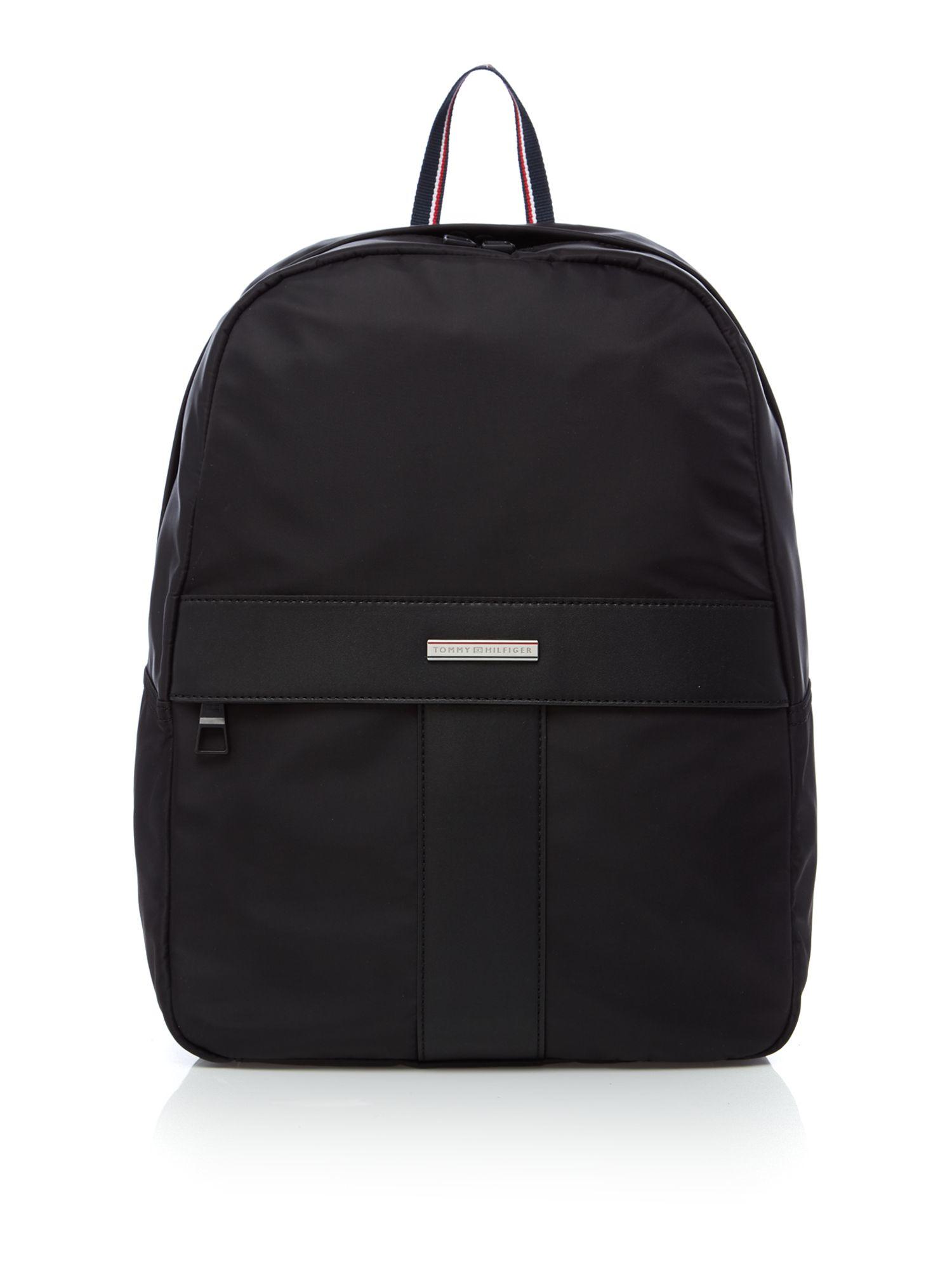 tommy hilfiger the story backpack in black for men lyst. Black Bedroom Furniture Sets. Home Design Ideas
