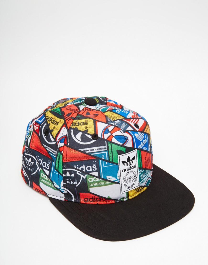 Lyst Adidas Originals Snapback Cap In Blue For Men