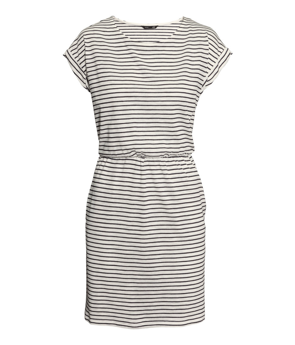 Short Grey Jersey Dress