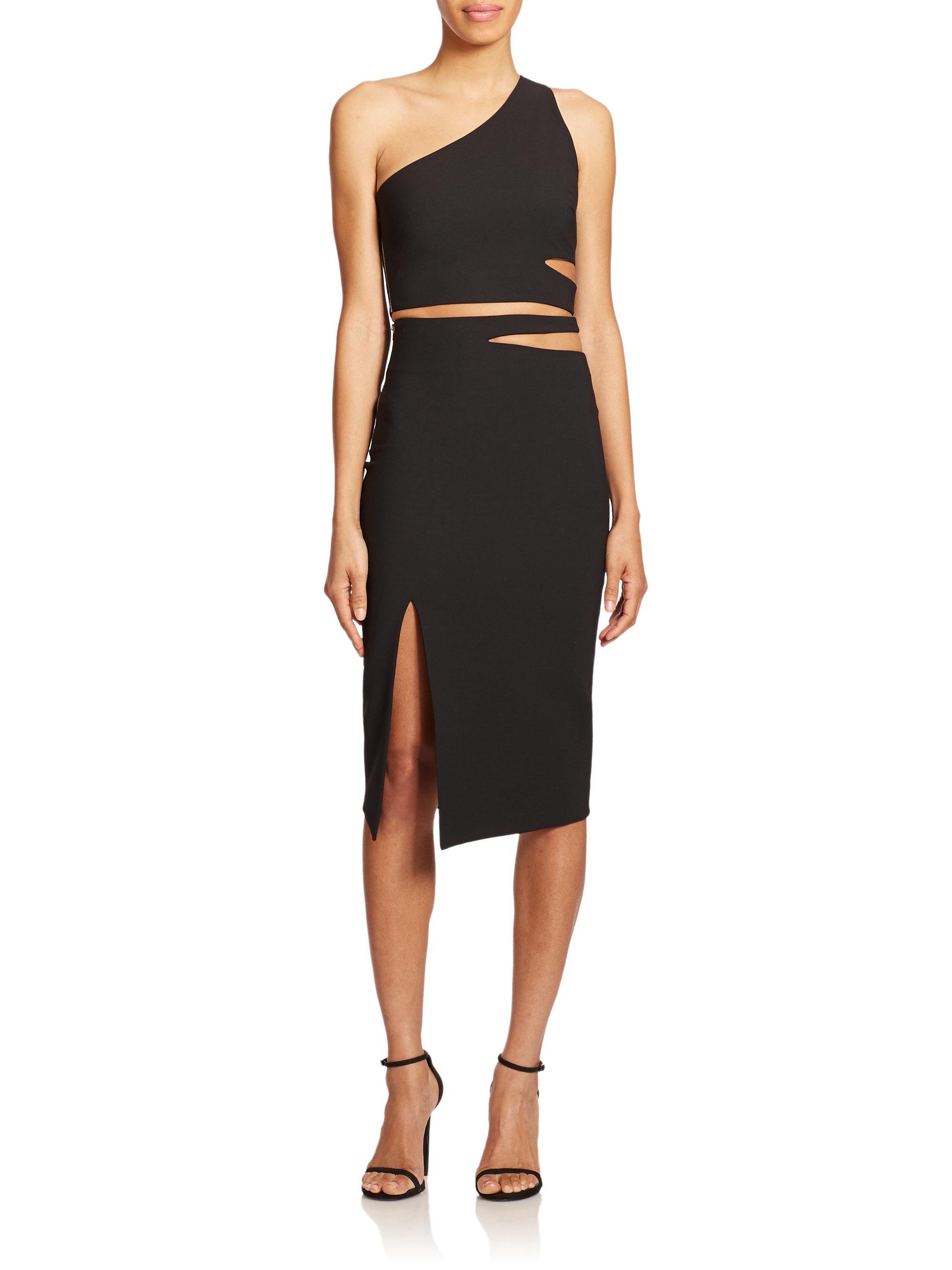 lyst elizabeth and james perla skirt in black. Black Bedroom Furniture Sets. Home Design Ideas