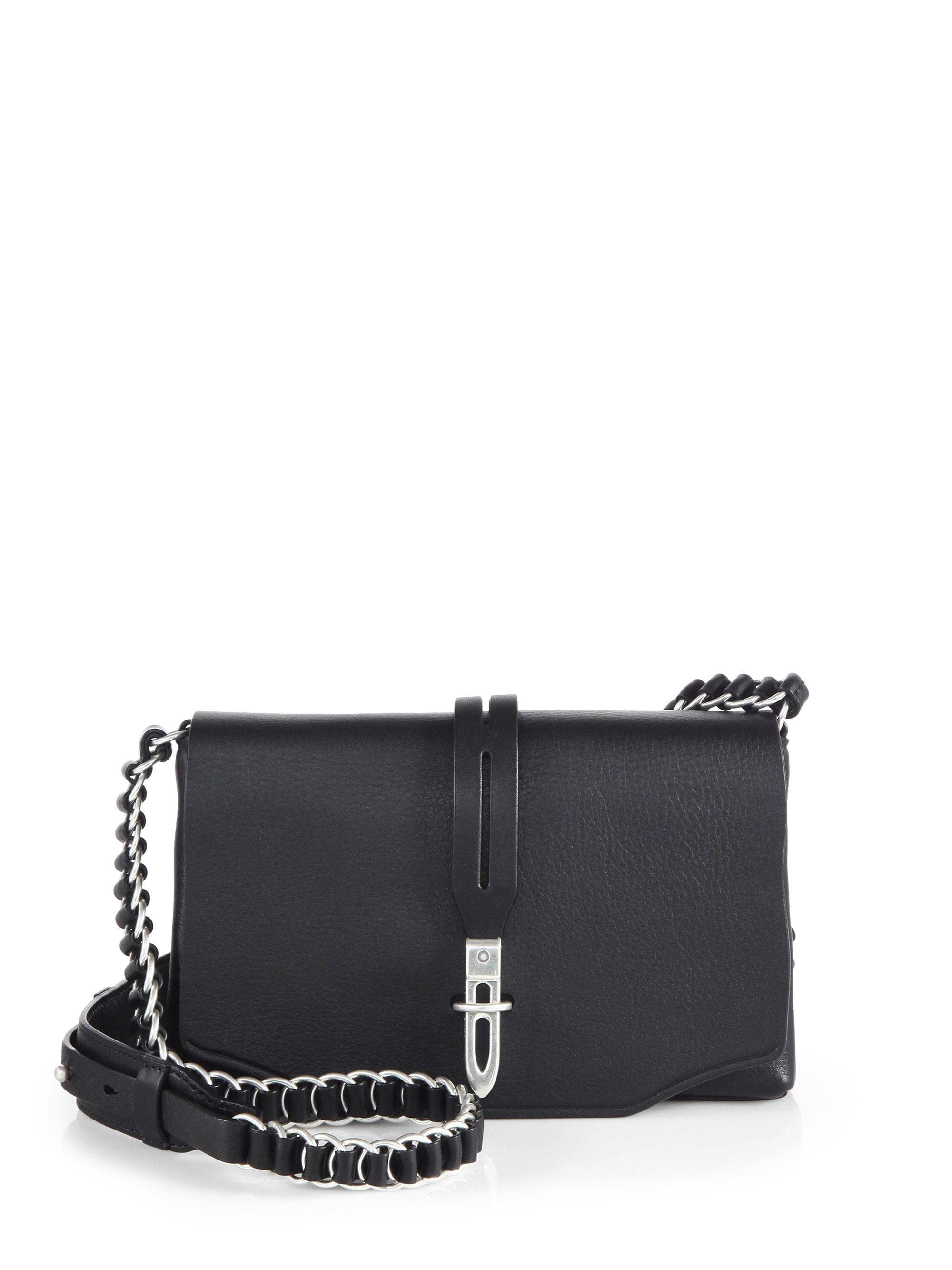 rag bone enfield mini crossbody bag in black lyst