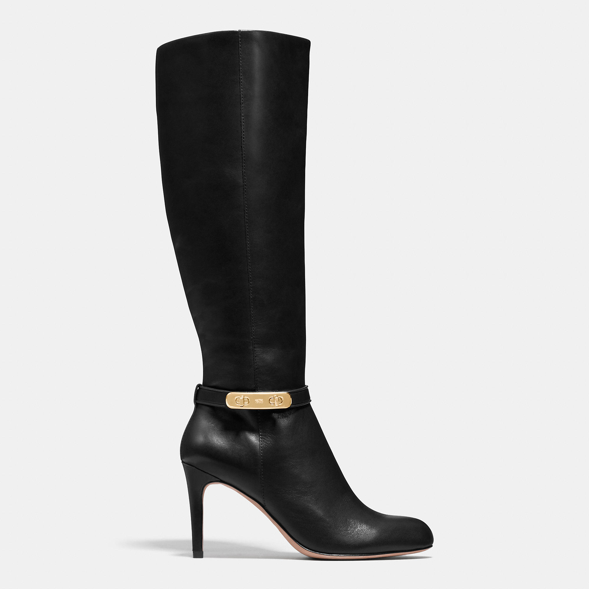 coach ruth boot in black lyst