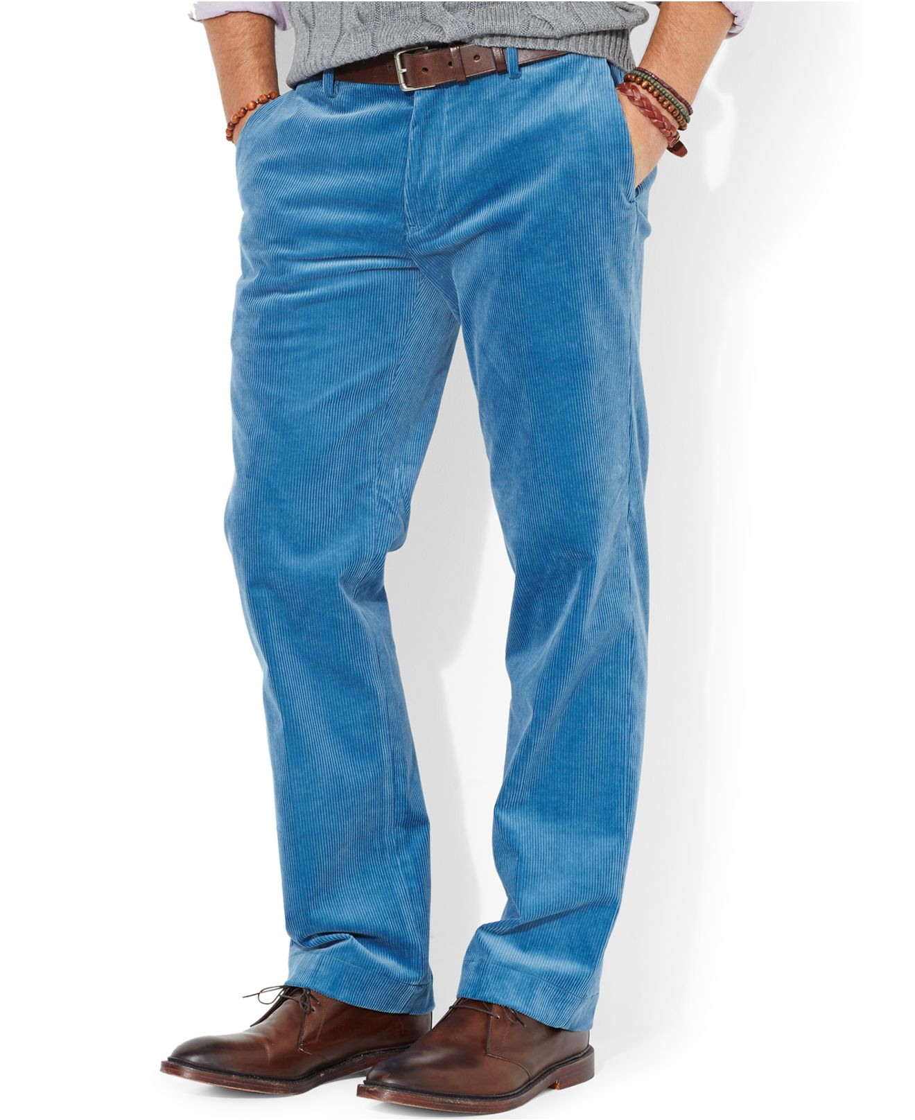 Corduroy Pants for Men are a timeless addition for any wardrobe! We have all the brands you want, including men's Croft & Barrow corduroy pants. We also have all the colors of pants you need to coordinate with other outfit options, like men's blue corduroy pants and men's brown corduroy pants.