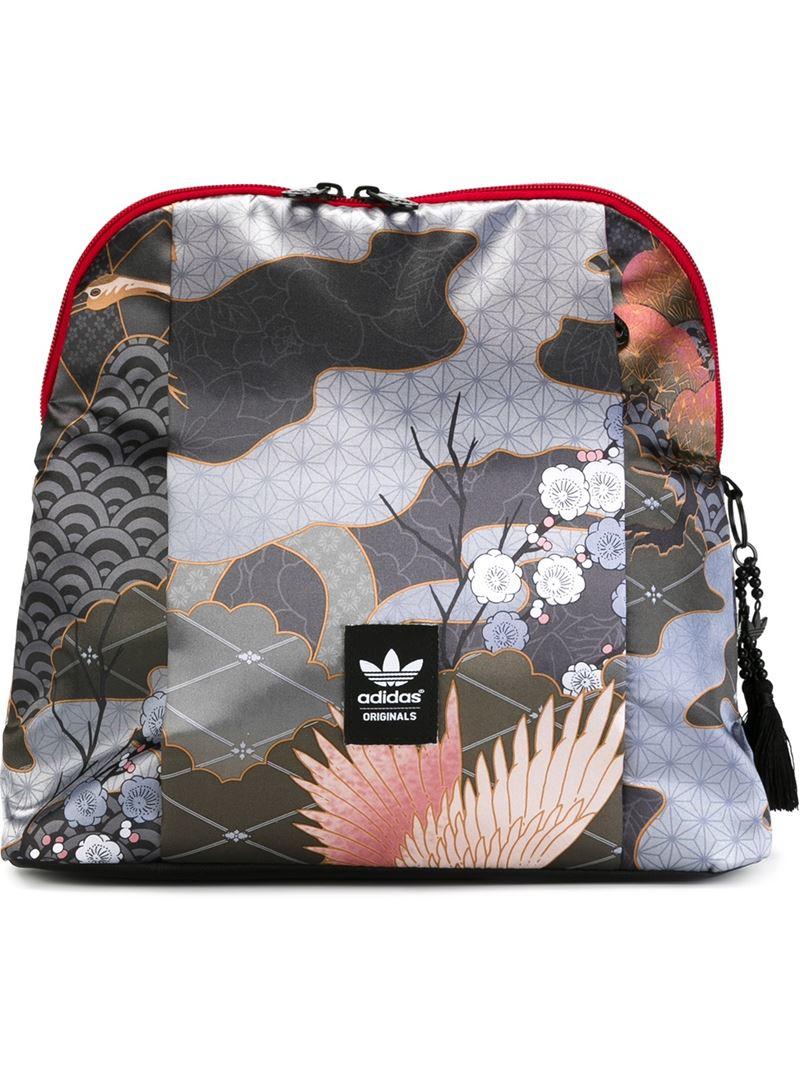 Lyst - adidas Originals   X Rita Ora  Multipatterned Backpack 0f7e5426b4b40