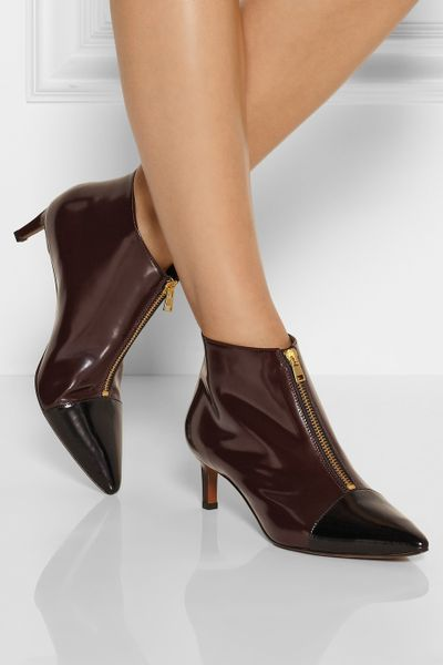 Gloss Leather Glossed-leather Ankle