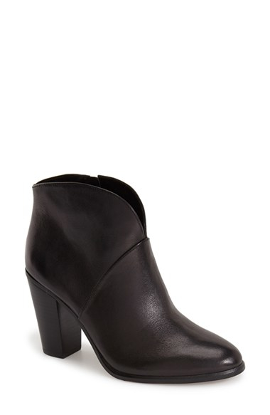 Vince Camuto Franell Western Bootie In Black Lyst
