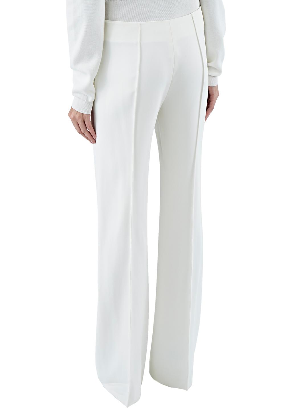 532024fdaea7d Lyst - Agnona Women s Wide Leg Pants In Off-white in White