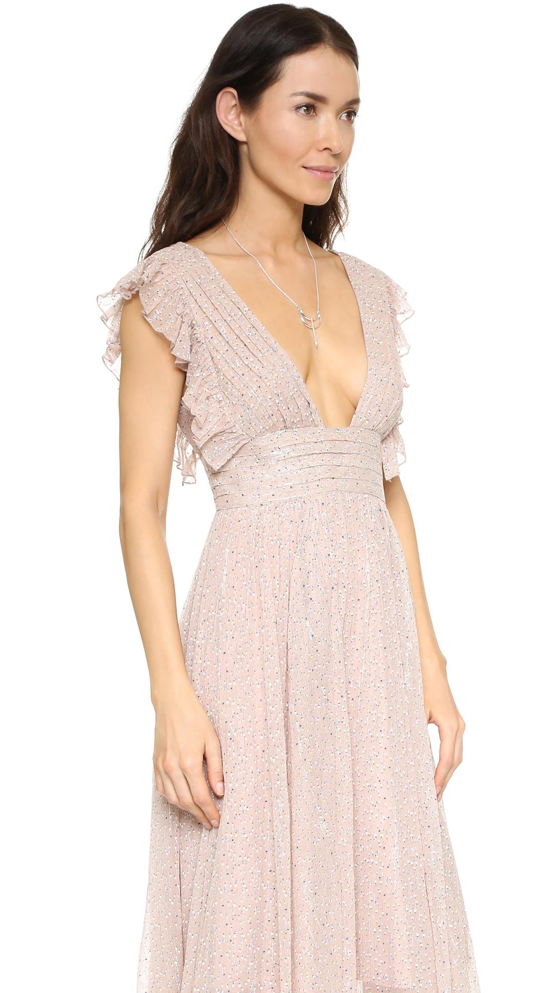 a033adbdb11 Free People My Antonia Maxi Dress in Natural - Lyst