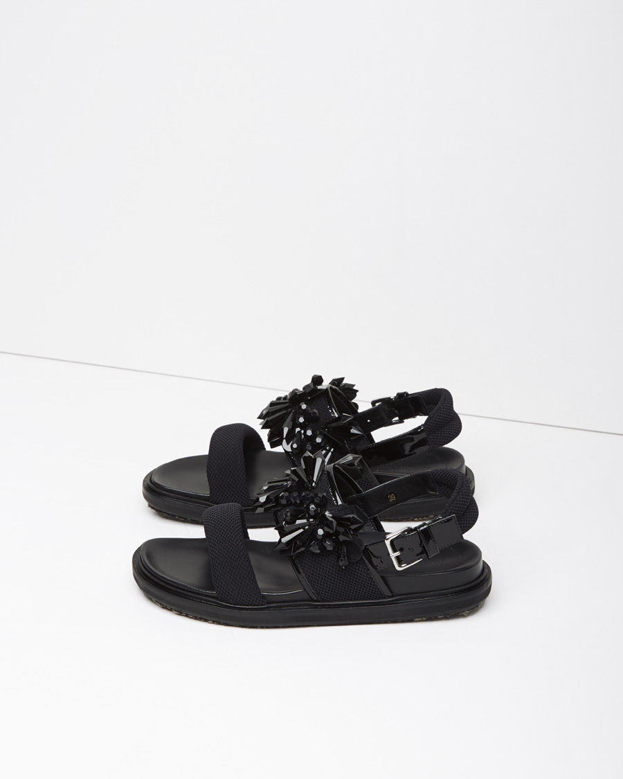 Marni Beaded Fussbett sandals Buy Cheap Outlet Locations Genuine For Sale Clearance With Credit Card Store Cheap Price RIh7aCX