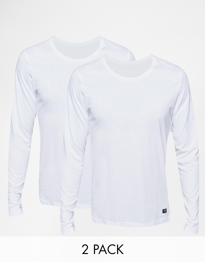 Produkt Multi Pack Long Sleeve Top Save 25% in White for Men | Lyst