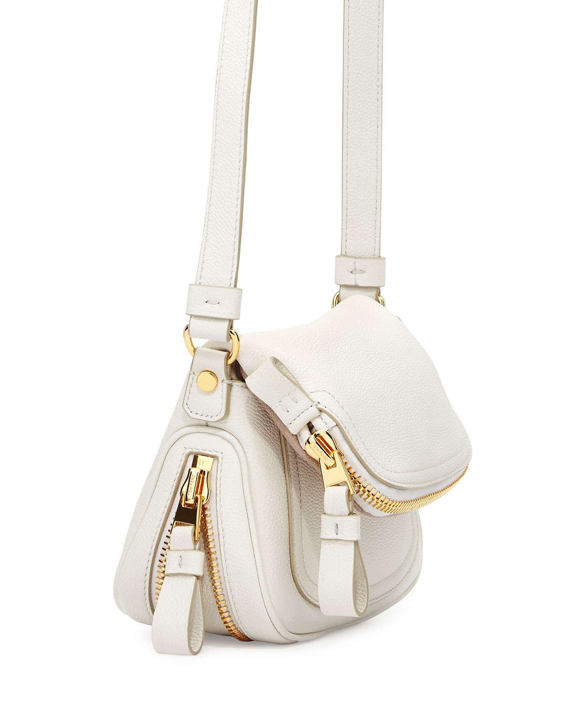 Lyst - Tom Ford Jennifer Mini Cross-Body Bag in White c880a9df4a5d7