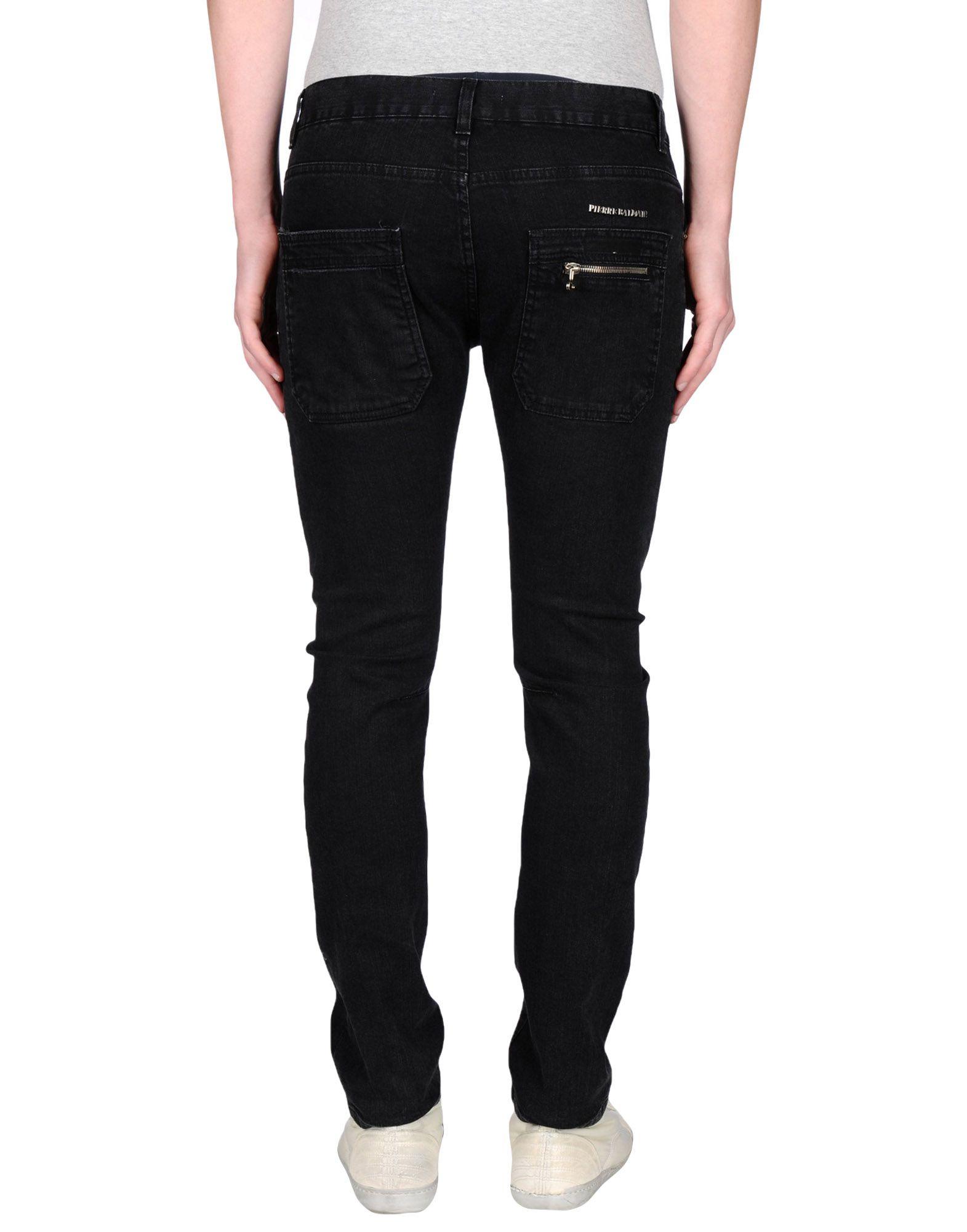 balmain skinny zip jeans in black for men. Black Bedroom Furniture Sets. Home Design Ideas