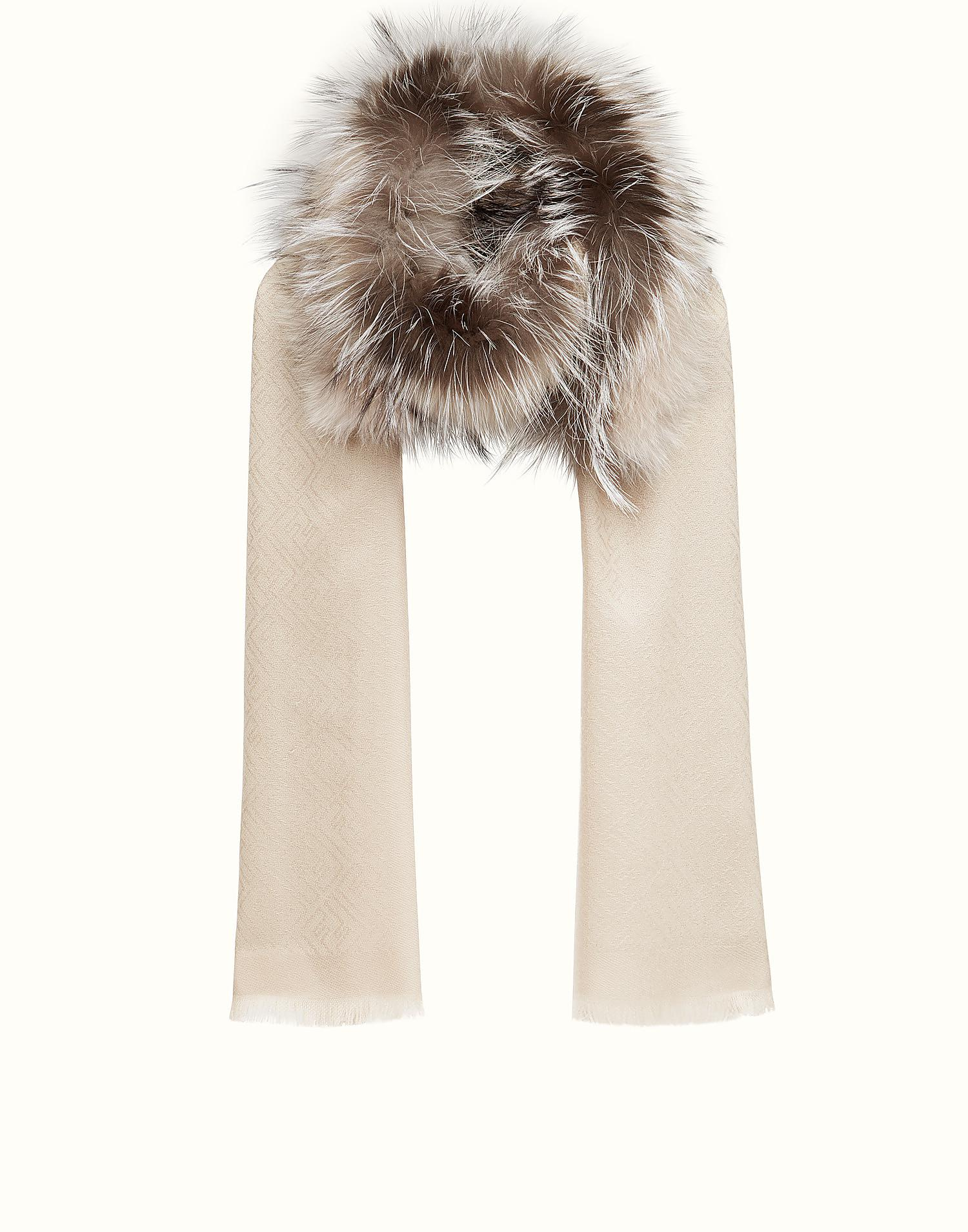 Touch Of Fur stole - Brown Fendi Sale Low Cost g7v7iTIA