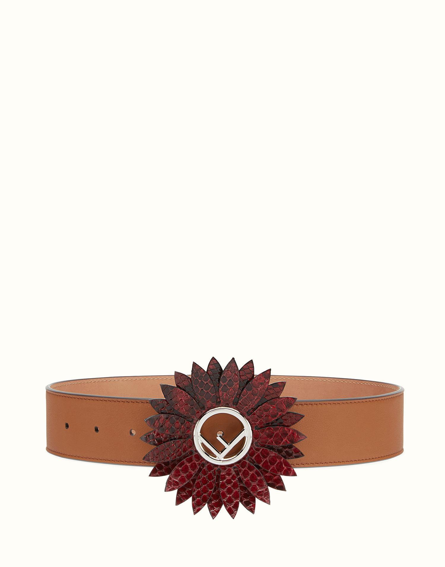 Daisy belt - Brown Fendi iSV34l