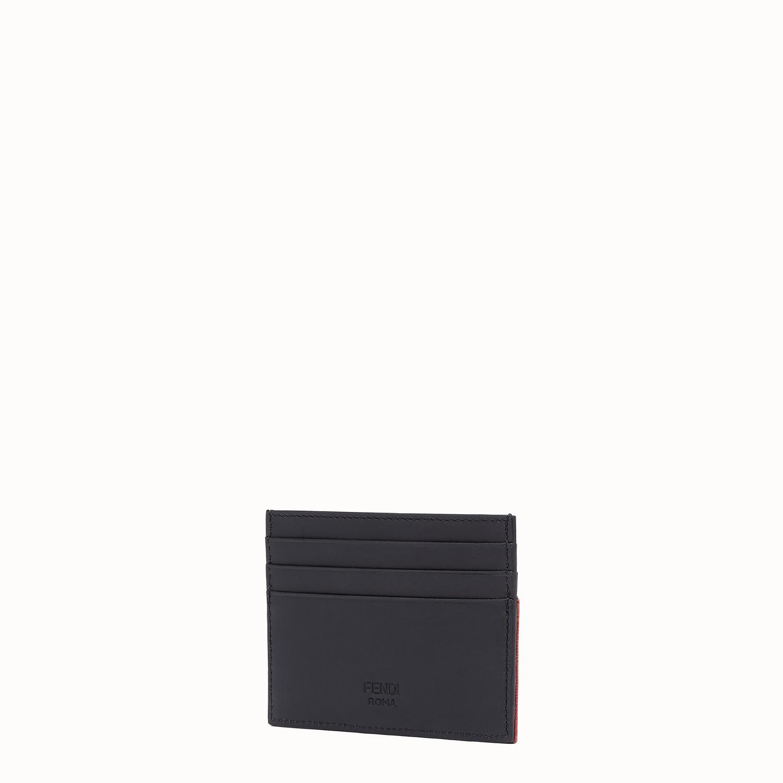 14adff96689 Fendi - Black Ff Logo Card Holder for Men - Lyst. View fullscreen