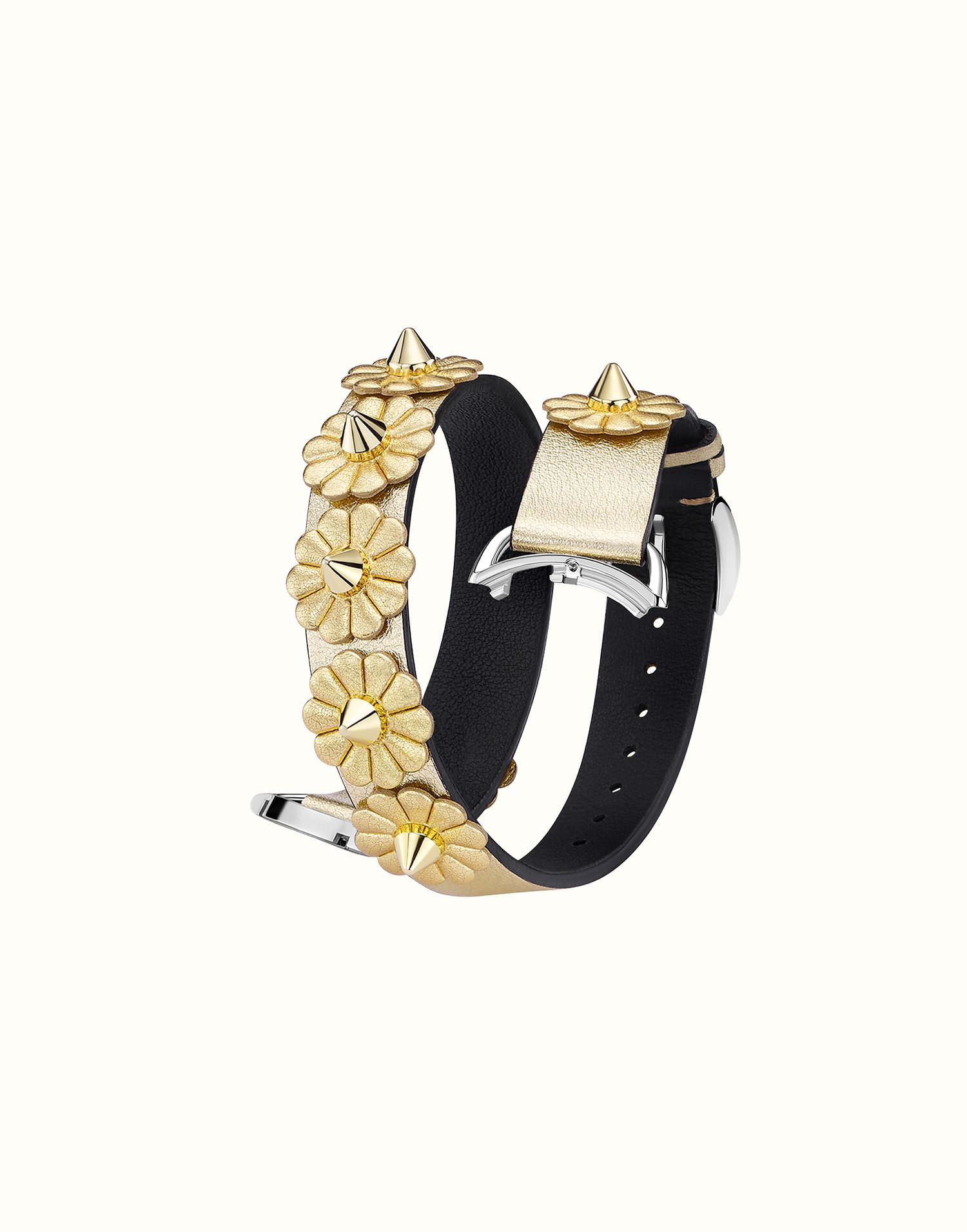 Fendi Selleria Strap You bracelet - Metallic r6hjM