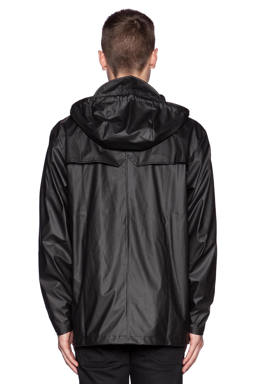 Lyst Rains Breaker In Black For Men