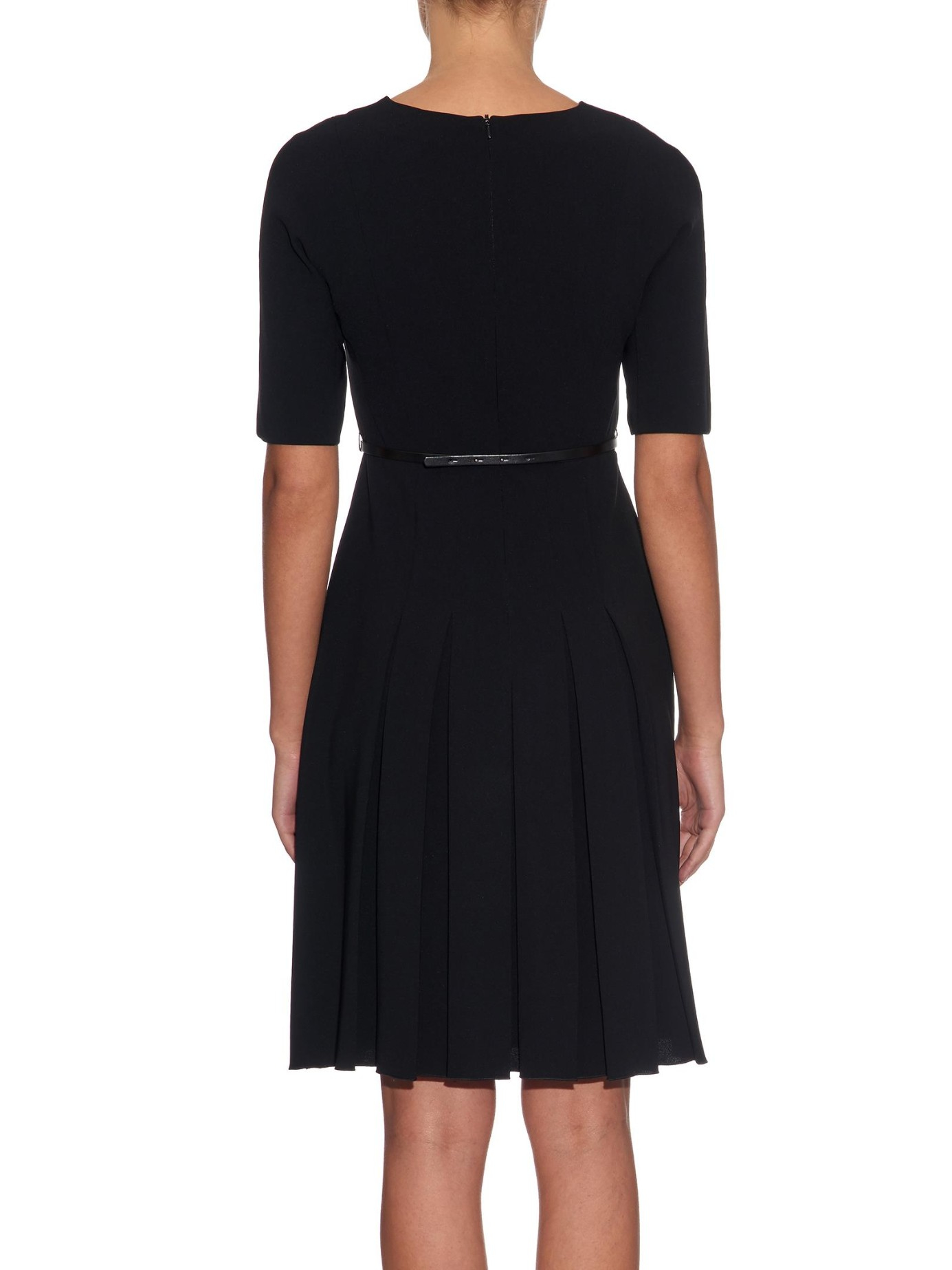 max mara studio dalida dress in black lyst. Black Bedroom Furniture Sets. Home Design Ideas