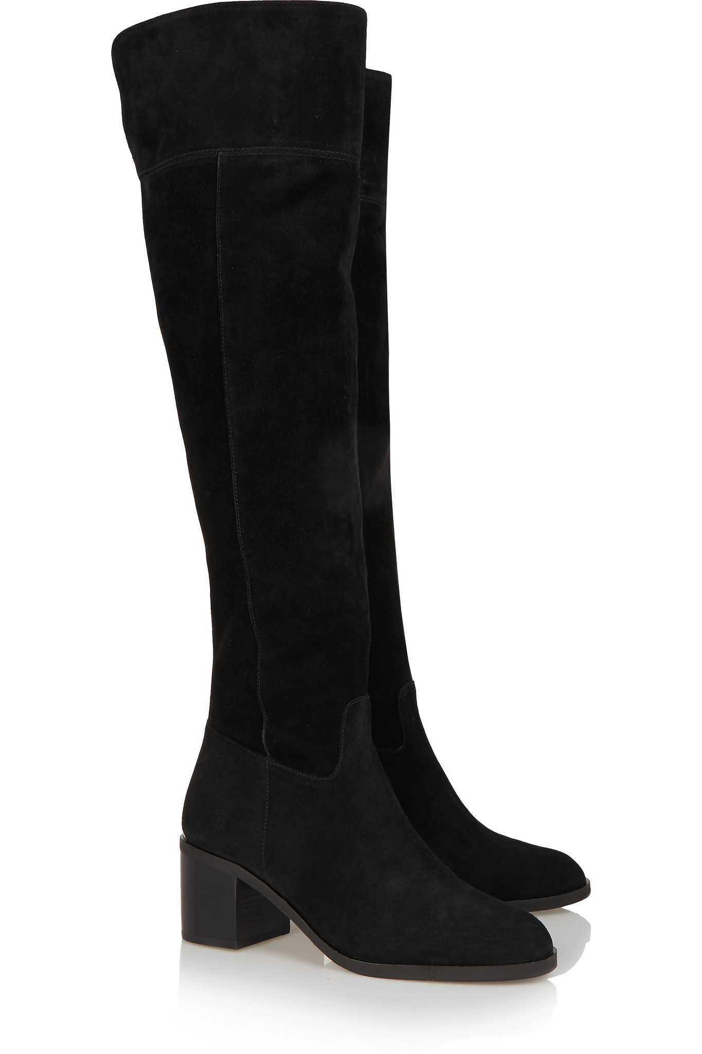 michael michael kors paulette suede the knee boots in