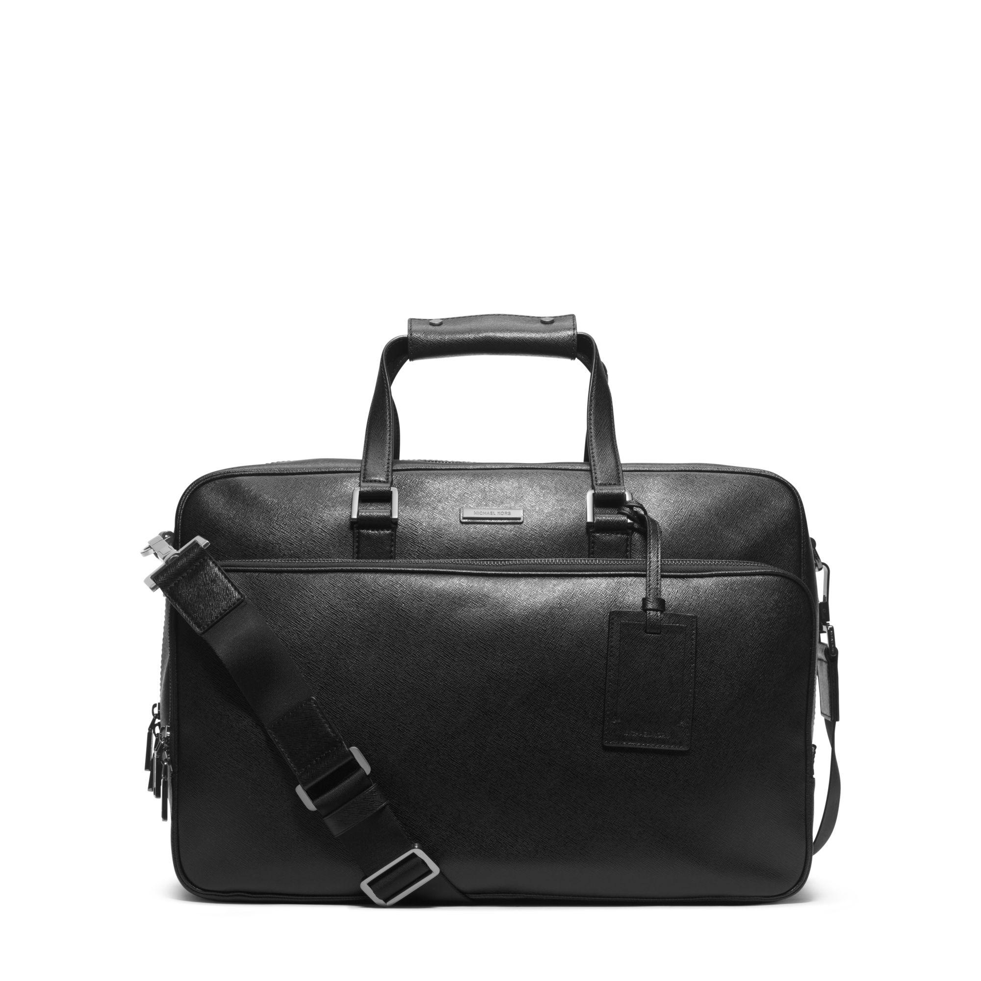 Michael Kors Jet Set Travel Käsilaukku : Michael kors jet set travel leather carry on in black for