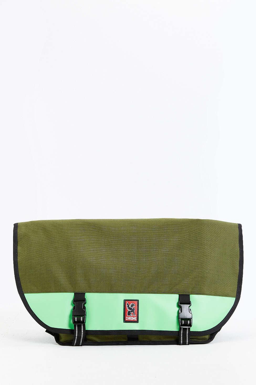 Lyst - Chrome Industries Mini Metro Messenger Bag in Green for Men 45abb63e76b0f