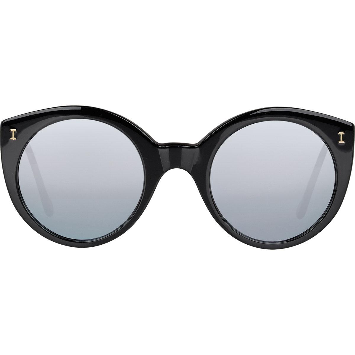 Lyst illesteva women 39 s palm beach mirrored sunglasses in for Mirror sunglasses