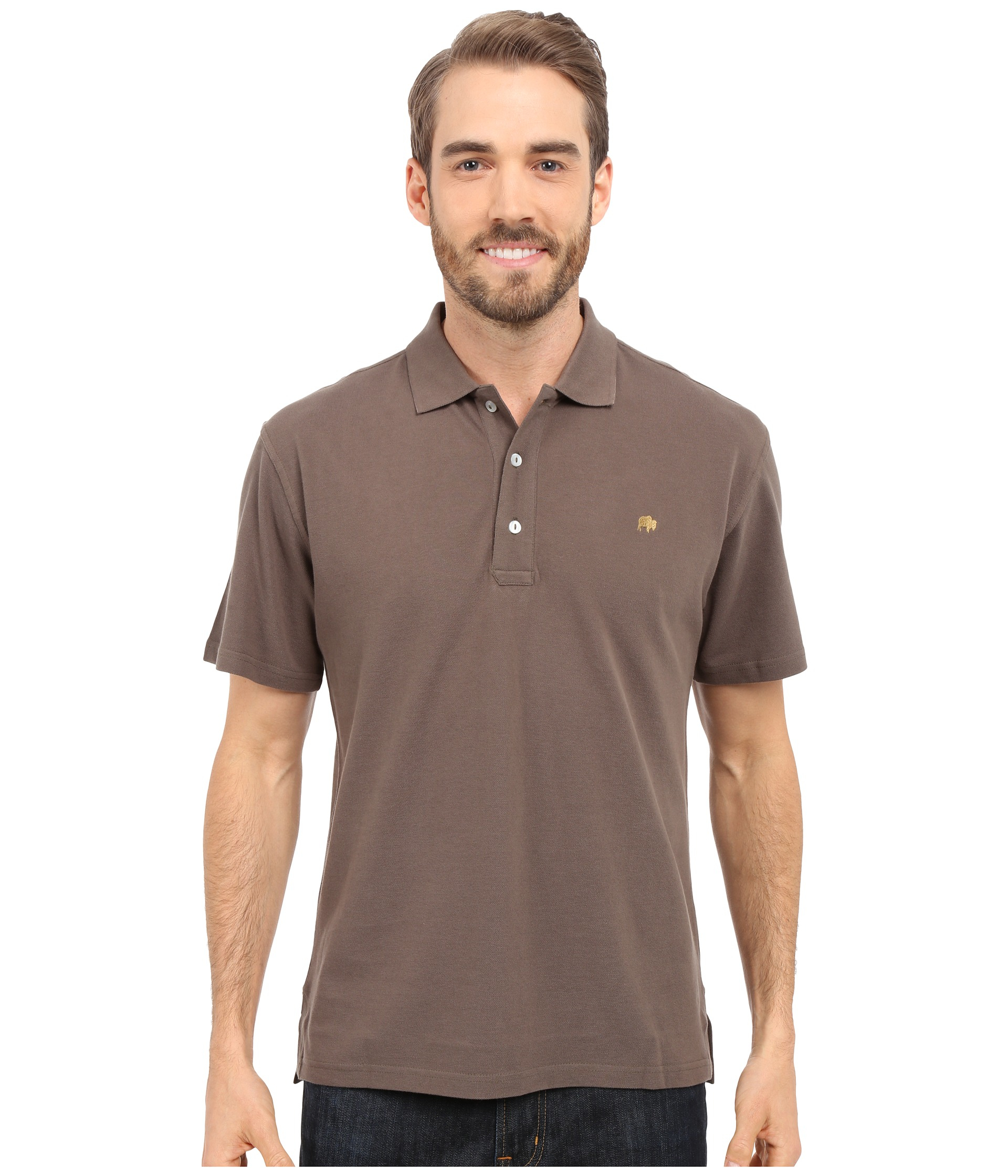 Mountain Khakis Bison Polo Shirt In Brown For Men Lyst