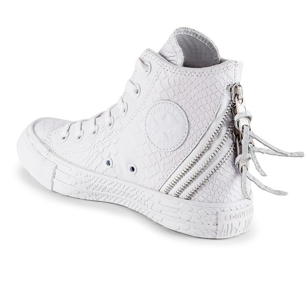 a65780dc4199f8 Converse Women S Chuck Taylor All Star Leather Tri-Zip Hi-Top ...