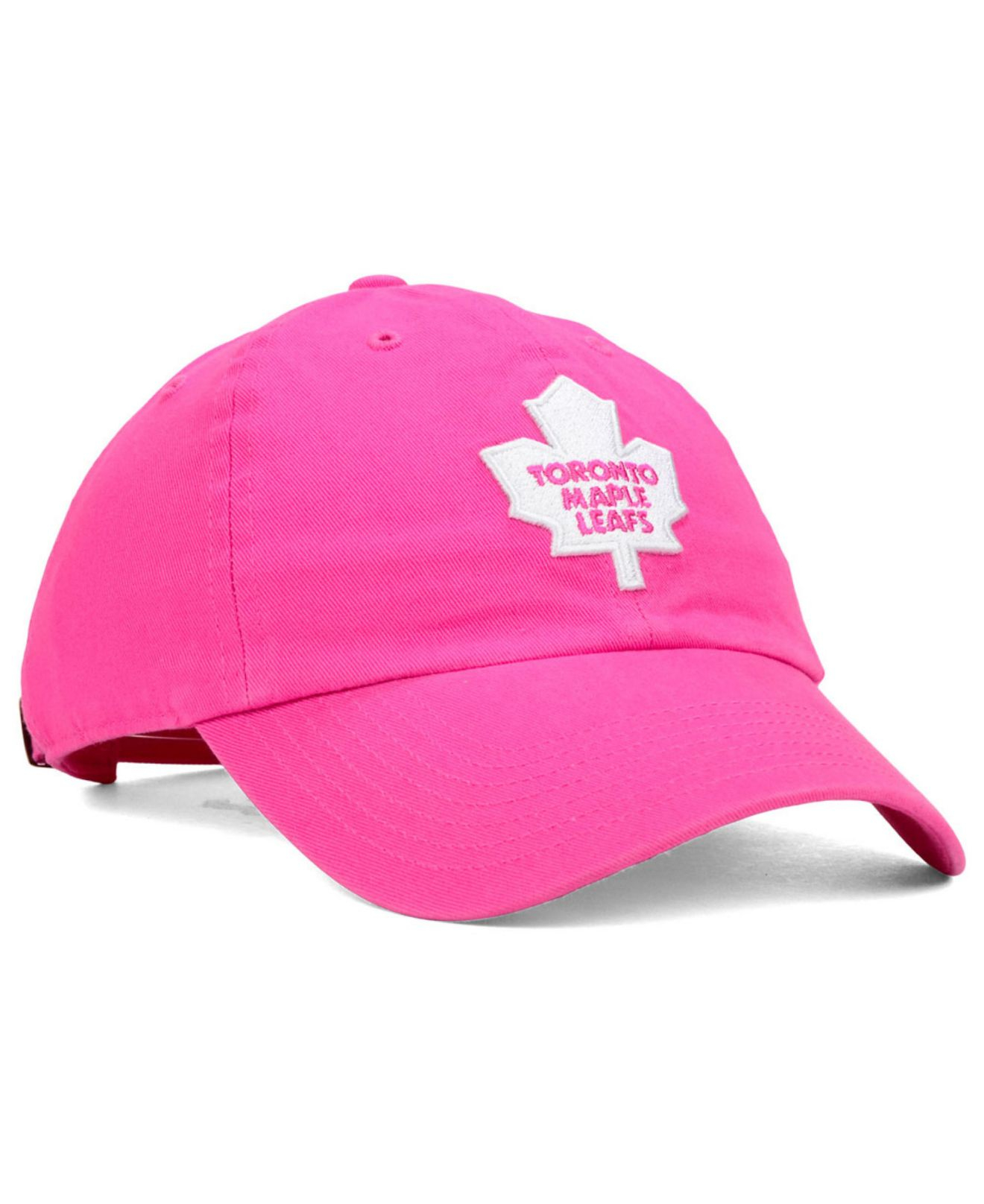 26901972365c0 ... czech lyst 47 brand girls toronto maple leafs clean up cap in pink for  men df6c9