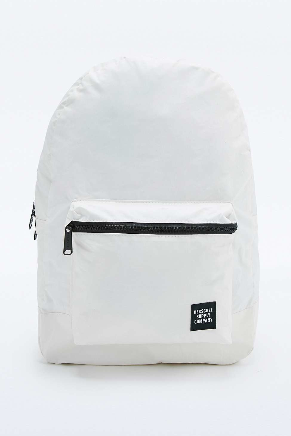 Herschel Supply Co. Day night Packable Daypack White Reflective ... 25fae80114eff