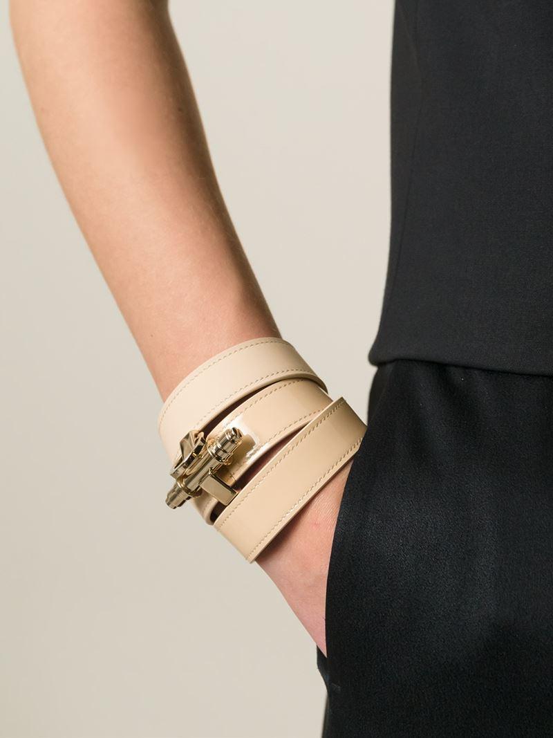 Obsedia Pure wraparound bracelet - Metallic Givenchy 4PKq9Ee