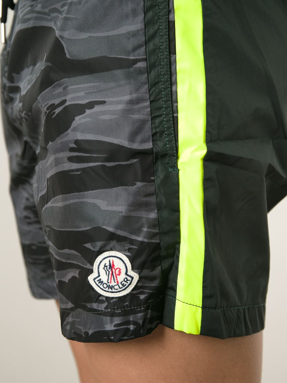 moncler camouflage swim