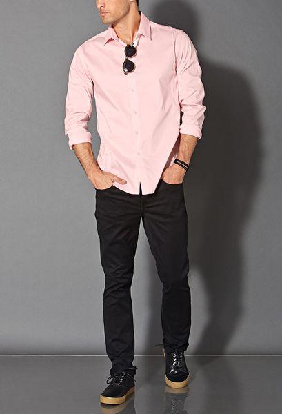 Mens Pink Dress Shirts Online | Is Shirt